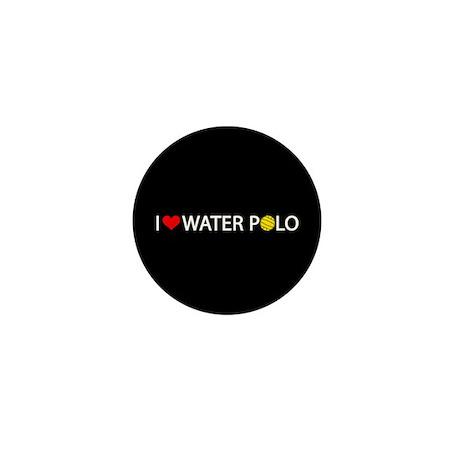 Love Water Polo Mini Button