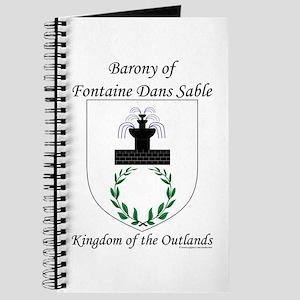 Fontaine Dans Sable Journal