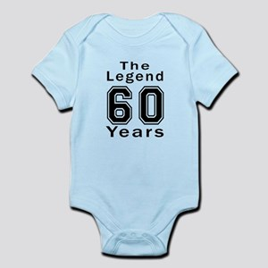 60 Legend Birthday Designs Infant Bodysuit