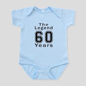 60 Legend Birthday Designs Infant Bodysuit