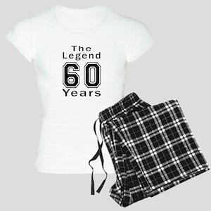 60 Legend Birthday Designs Women's Light Pajamas