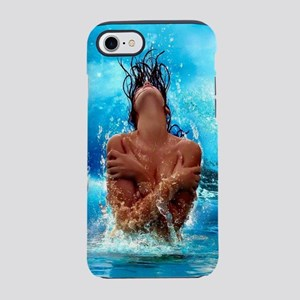 Sexy Mermaid In Water iPhone 8/7 Tough Case