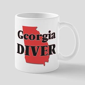 Georgia Diver Mugs