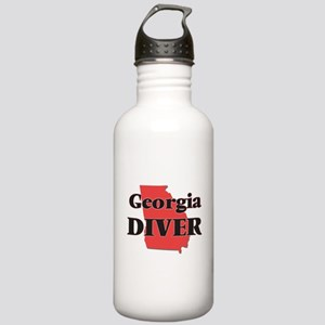 Georgia Diver Stainless Water Bottle 1.0L