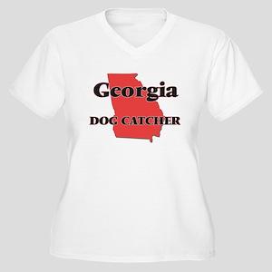 Georgia Dog Catcher Plus Size T-Shirt