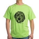 Labradoodle Green T-Shirt