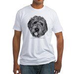 Labradoodle Fitted T-Shirt