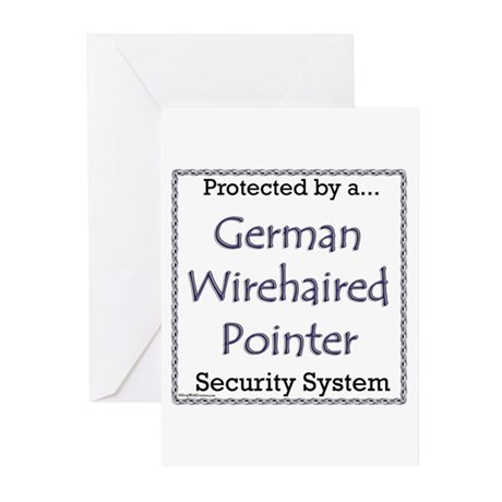 Wirehaired Security Greeting Cards (Pk of 20)