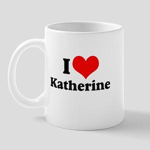 I Heart Katherine Mug