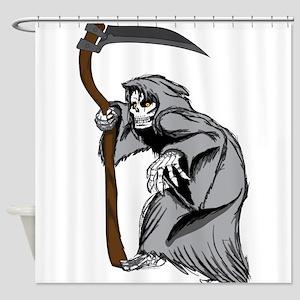 Grim Creaper Shower Curtain
