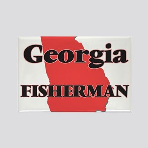 Georgia Fisherman Magnets
