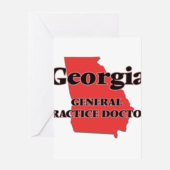 Georgia General Practice Doctor Greeting Cards