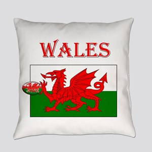Wales Rugby Everyday Pillow