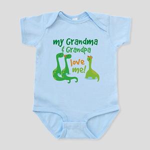 Grandma Grandpa Love Me Body Suit