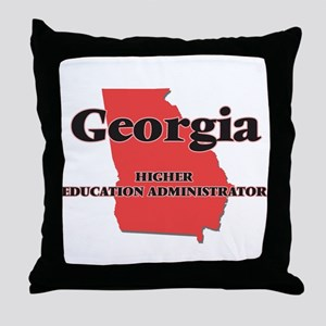 Georgia Higher Education Administrato Throw Pillow