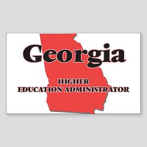 Georgia Higher Education Administrator Sticker