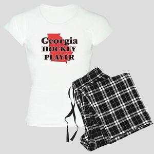Georgia Hockey Player Women's Light Pajamas