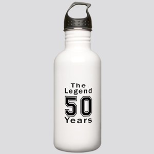 50 Legend Birthday Des Stainless Water Bottle 1.0L