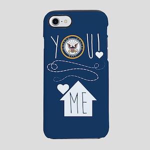 Navy You Love Me iPhone 8/7 Tough Case