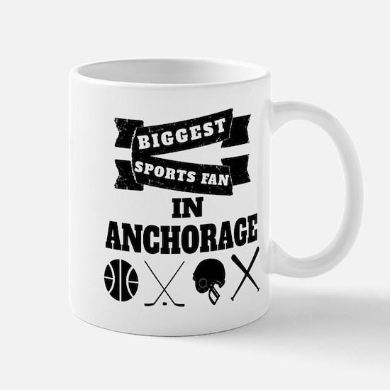 Biggest Sports Fan In Anchorage Mugs