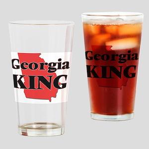 Georgia King Drinking Glass