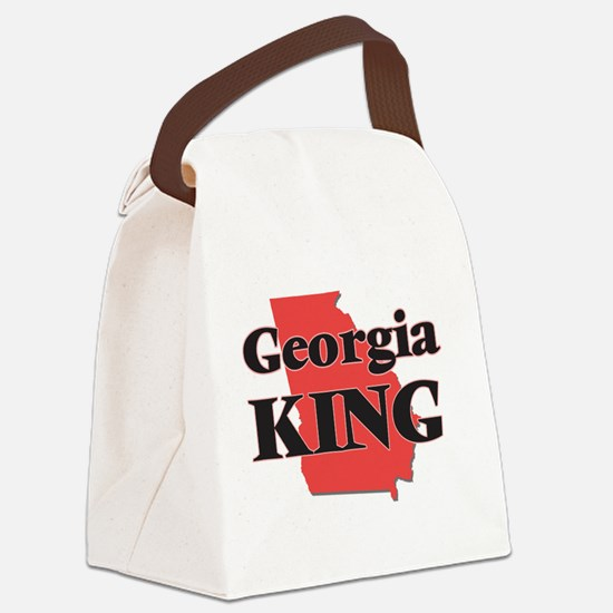 Georgia King Canvas Lunch Bag