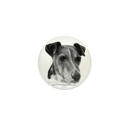 Smooth Fox Terrier Mini Button