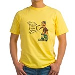 The Mean Goat Yellow T-Shirt