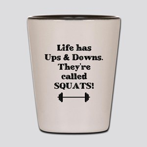 Ups & Downs Shot Glass