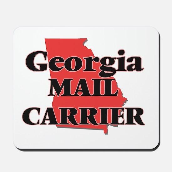 Georgia Mail Carrier Mousepad