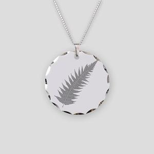 Silver Fern Aotearoa Necklace