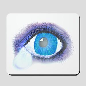 Teardrop Eye Mousepad