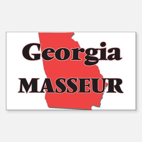 Georgia Masseur Decal