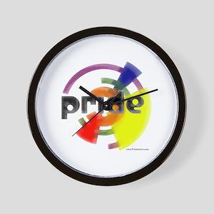 Artistic Gay Pride Wall Clock