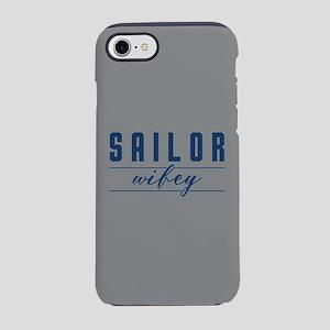 Navy Sailor Wifey iPhone 8/7 Tough Case