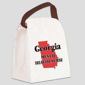 Georgia Mental Health Nurse Canvas Lunch Bag