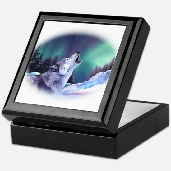 Winter Wolf 2015 Keepsake Box