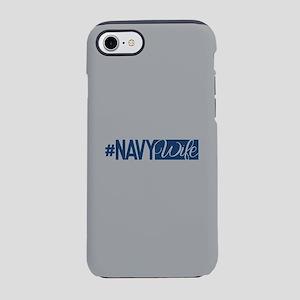 #NavyWife iPhone 8/7 Tough Case