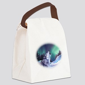 Winter Wolf 2015 Canvas Lunch Bag