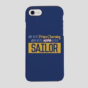 Navy Prince Charming iPhone 8/7 Tough Case