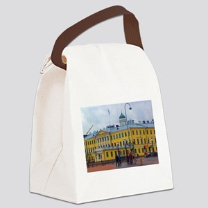 Classical Helsinki Canvas Lunch Bag