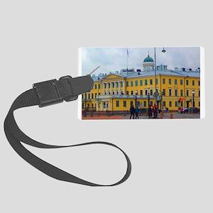 Classical Helsinki Luggage Tag