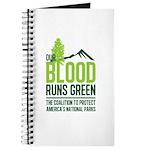 Our Blood Runs Green Journal