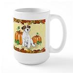 Autumn Russell Terrier Mug Mugs