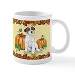 Autumn Russell Terrier Mugs