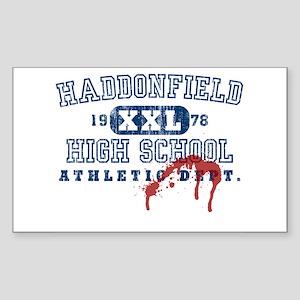 Property of Haddonfield High Sticker (Rectangular