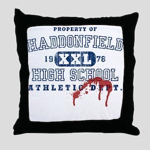 Property of Haddonfield High Throw Pillow