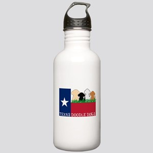 Texas Doodle Dogs Stainless Water Bottle 1.0L