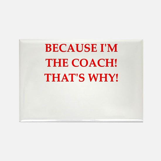 coach gifts t-shirts presen Rectangle Magnet