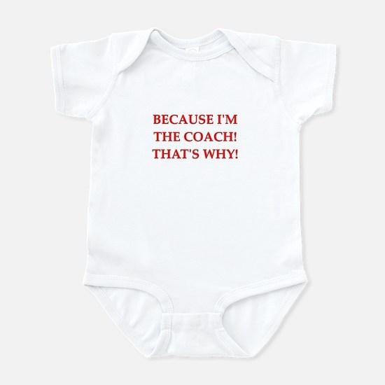 coach gifts t-shirts presen Infant Bodysuit